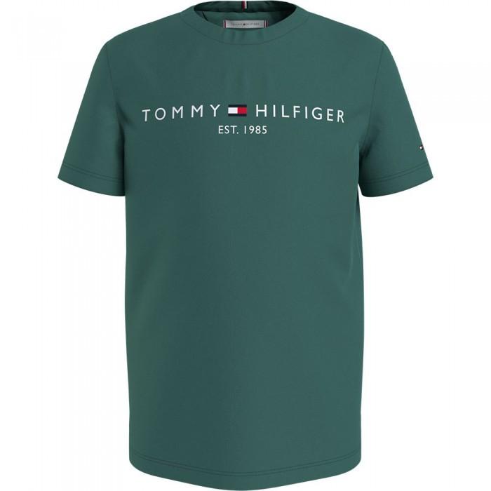 [해외]타미힐피거 KIDS Essential Short Sleeve T-Shirt 15138164918 Forage Green