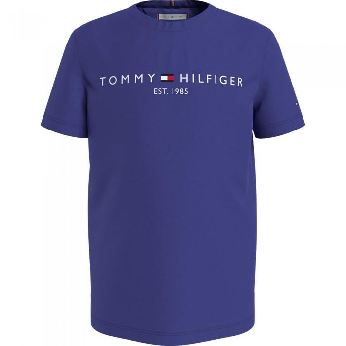 [해외]타미힐피거 KIDS Essential Short Sleeve T-Shirt 15138164919 Court Purple
