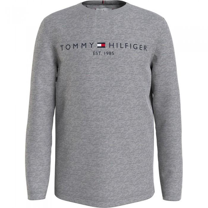 [해외]타미힐피거 KIDS Essential Long Sleeve T-Shirt 15138164921 Light Grey Heather