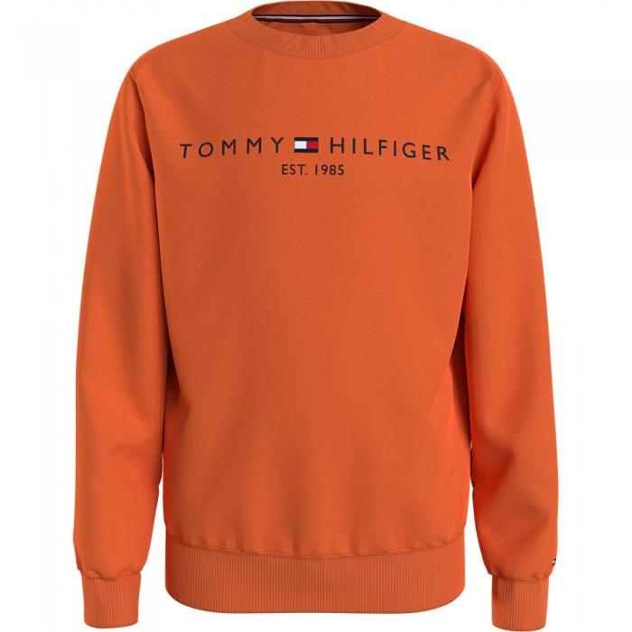 [해외]타미힐피거 KIDS Essential Cotton Sweatshirt 15138164923 Magnetic Orange
