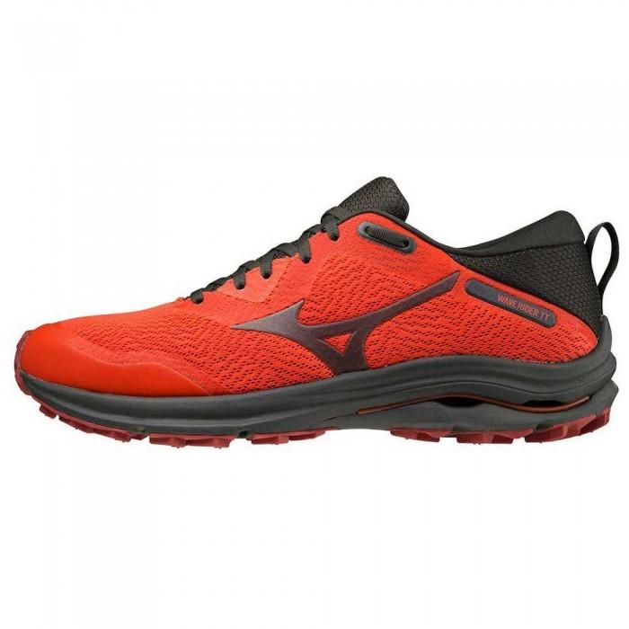 [해외]미즈노 Wave Rider TT Trail Running Shoes 4138130793 Cherry Tomato / Black Ink