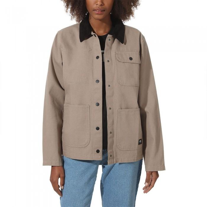 [해외]반스 Drill Chore Jacket Military Khaki