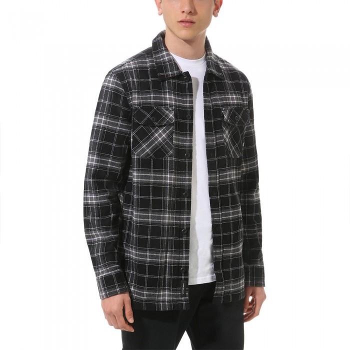 [해외]반스 Tradewinds Long Sleeve Shirt Black