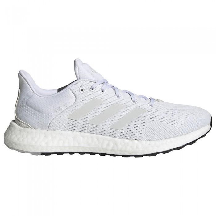 [해외]아디다스 Pureboost 21 Running Shoes Refurbished 6138317750 Ftwr White / Ftwr White / Dash Grey