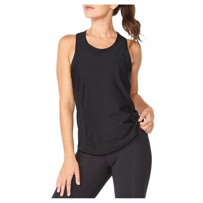[해외]2XU Motion Mesh Sleeveless T-Shirt 6138230938 Black