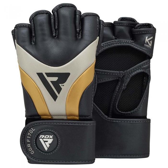 [해외]RDX SPORTS Auta T-17 Grappling Gloves Combat Gloves 7138307435 Golden