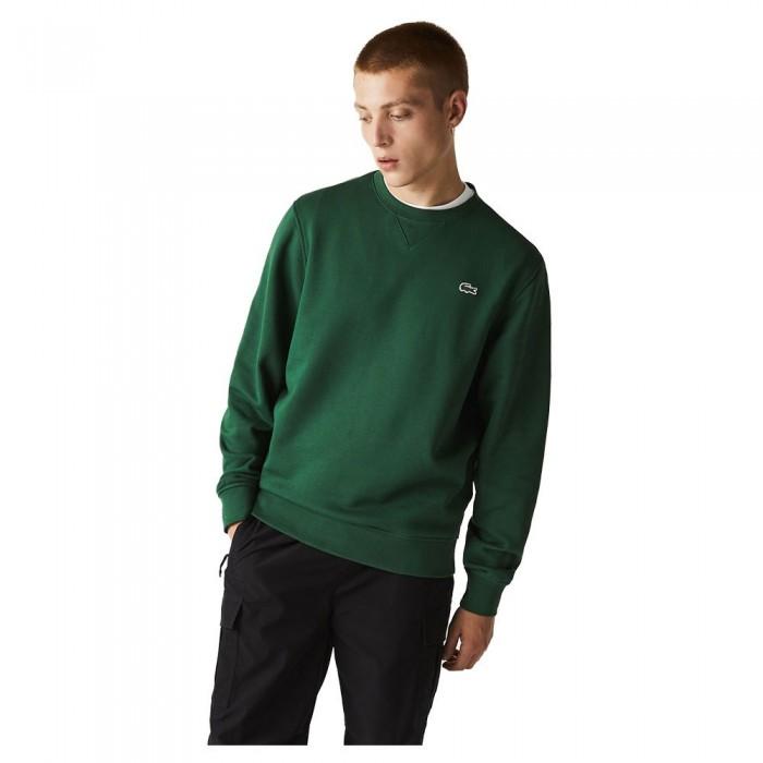[해외]라코스테 Sport Cotton Blend Sweatshirt 7137685212 Green / Green