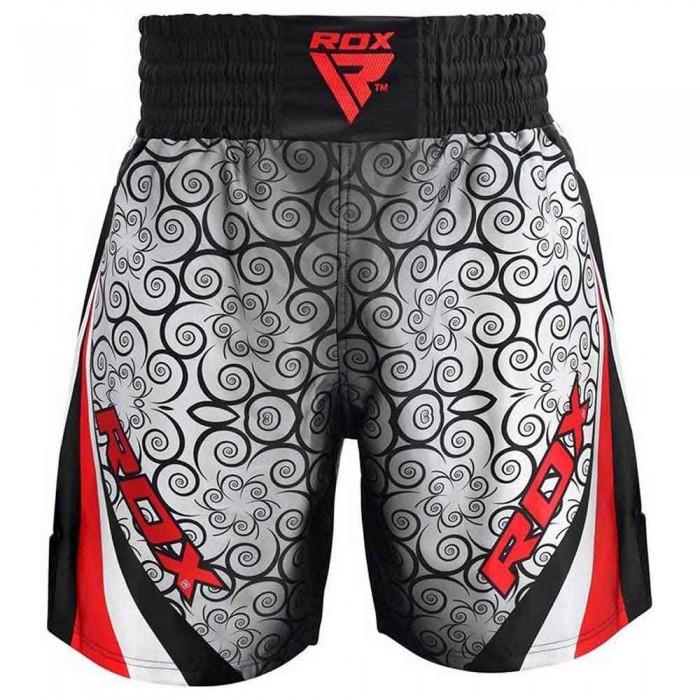 [해외]RDX SPORTS Satin R1 Boxing Shorts 7138319500 Red