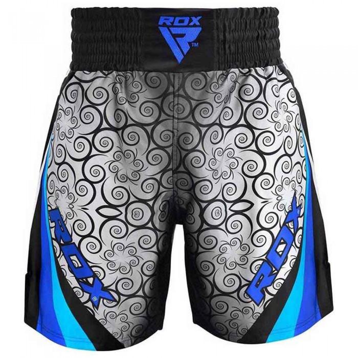 [해외]RDX SPORTS Satin R2 Boxing Shorts 7138319501 Blue