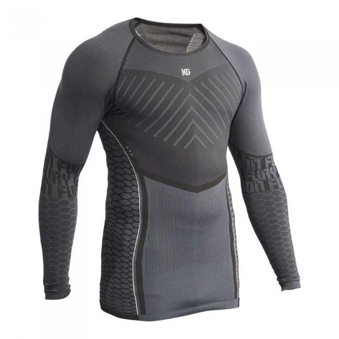 [해외]SPORT HG Carbon Fury Long Sleeve Base Layer 7138328269 Grey