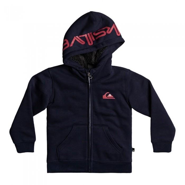 [해외]퀵실버 Best Wave Sherpa Full Zip Sweatshirt 5138171885 Navy Blazer