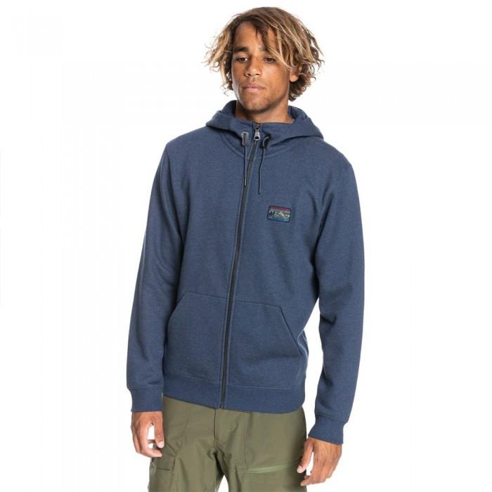 [해외]퀵실버 Big Logo Snow Full Zip Sweatshirt 5138171901 Insignia Blue