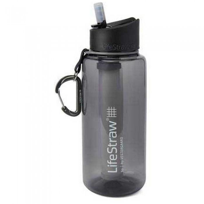 [해외]LIFESTRAW Water Filter Bottle Go 1L 6138101841 Grey