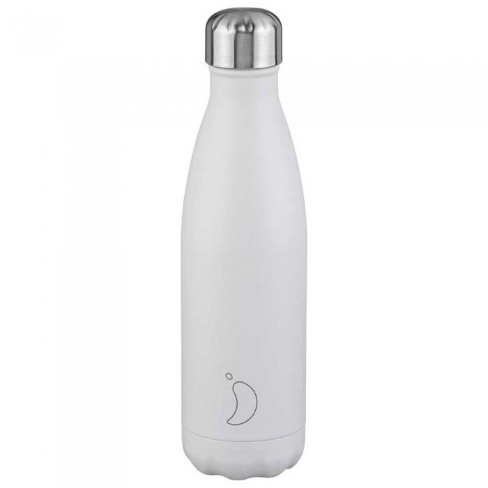 [해외]CHILLY Bottle 500 ml 6138325222 Monochrome White / Silver