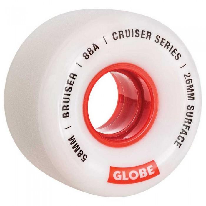 [해외]글로브 Bruiser 14137878283 White / Red / 58