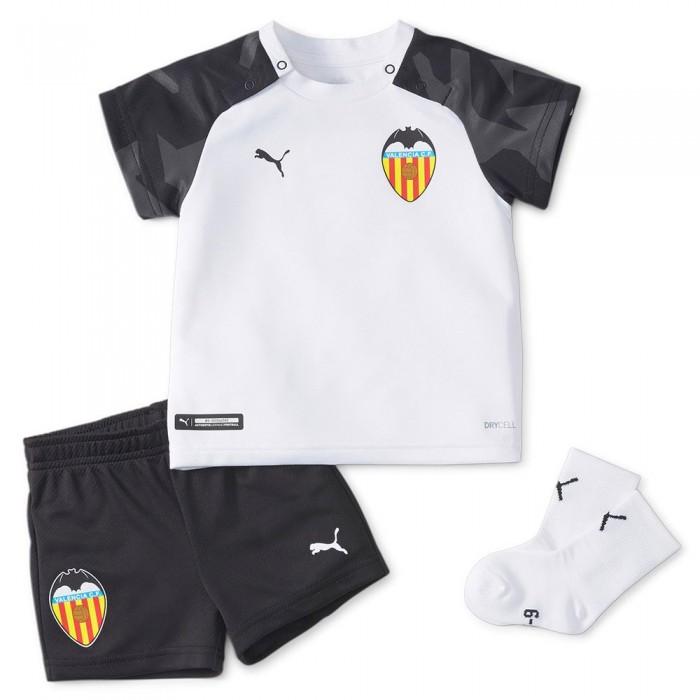 [해외]푸마 Valencia CF Home Babykit 15138054004 Puma White / Puma Black