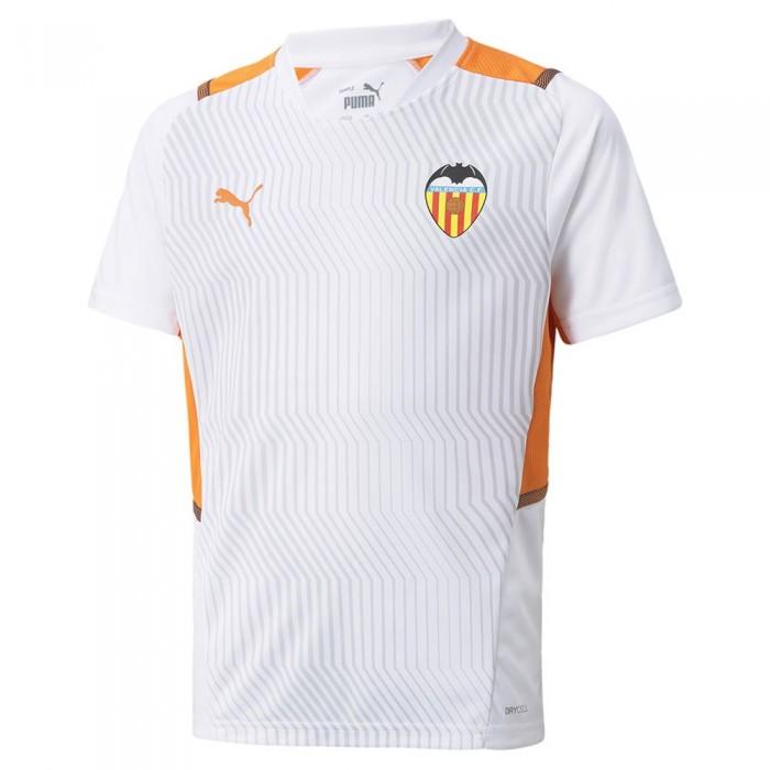 [해외]푸마 Valencia CF Training 21/22 Junior 15138054008 Puma White / Vibrant Orange