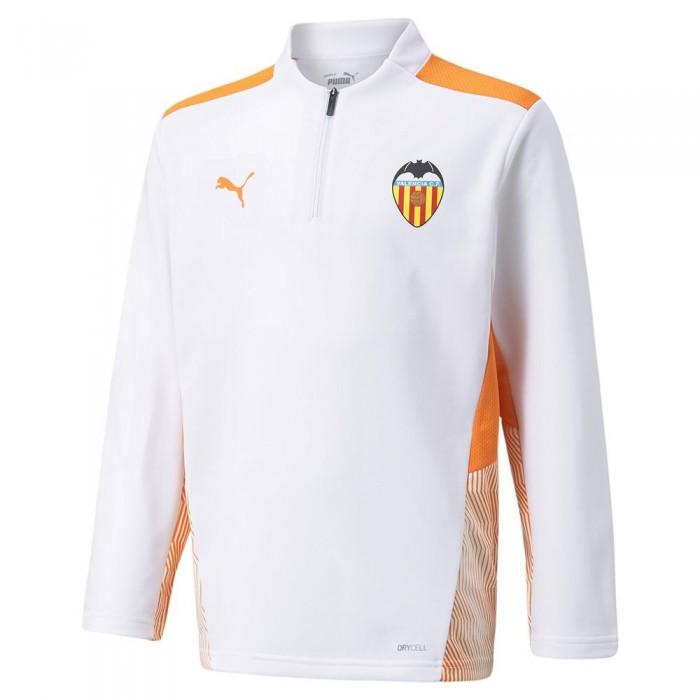 [해외]푸마 Valencia CF Training 21/22 Junior 15138054014 Puma White / Vibrant Orange