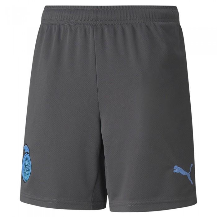 [해외]푸마 Girona FC 21/22 Junior 15138054141 Asphalt / Puma Black / Team Light Blue