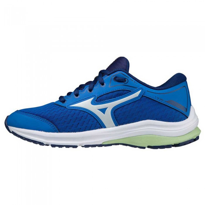 [해외]미즈노 Wave Rider 25 Running Shoes 15138130800 Princess Blue / Illusion Blue / Green