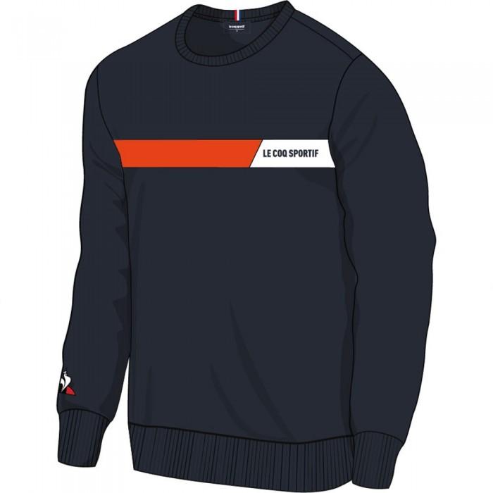[해외]르꼬끄 Tech Crew Nº2 Sweatshirt 15137442700 Sky Captain / Orange / New Optical White