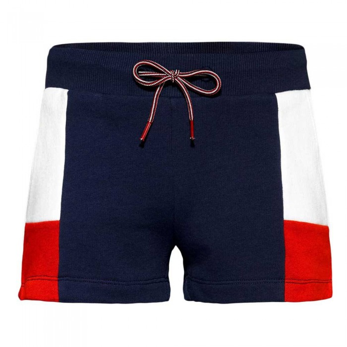 [해외]타미힐피거 KIDS Colour-Blocked Shorts 15138054718 Twilight Navy/ Deep Crimson