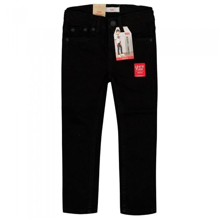 [해외]리바이스 ? KIDS Skinny Taper Pants 15138145673 Black Stretch