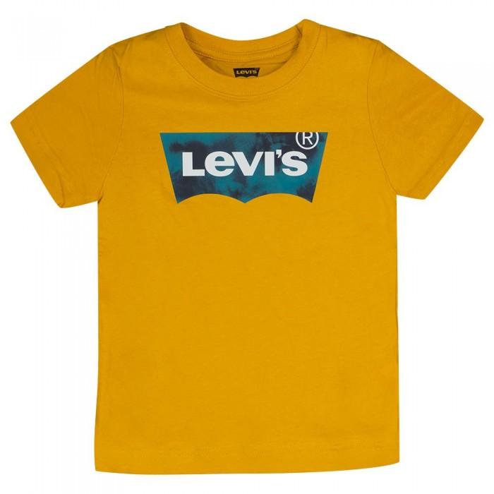 [해외]리바이스 ? KIDS Graphic Short Sleeve T-Shirt 15138145742 Golden Spice