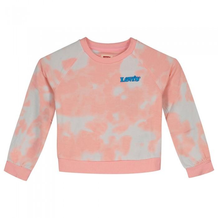 [해외]리바이스 ? KIDS Benchwarmer Sweatshirt 15138145911 Almond Tie Dye