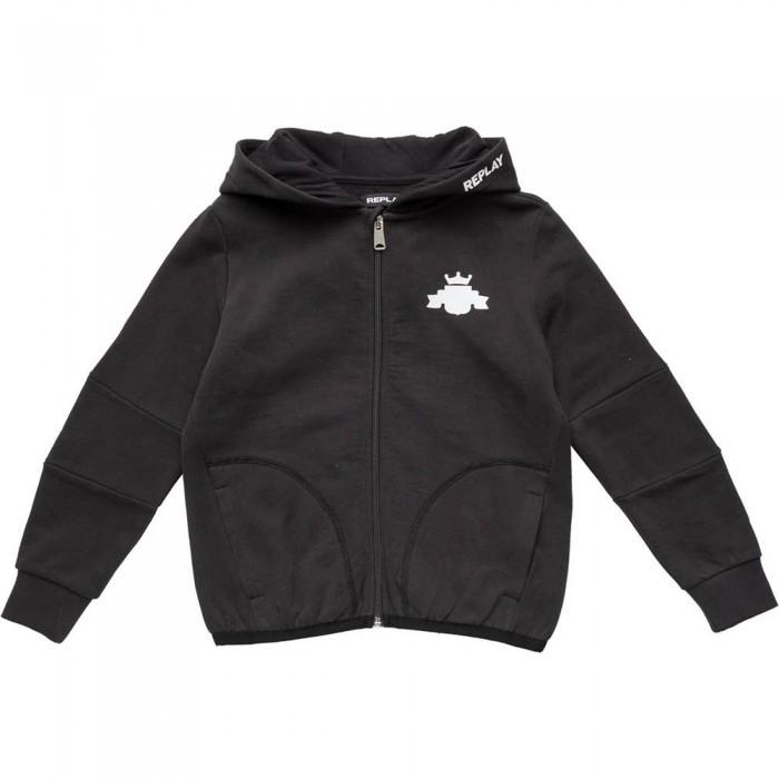 [해외]리플레이 SB2721.050.20372C Sweatshirt 15138199835 Blackboard