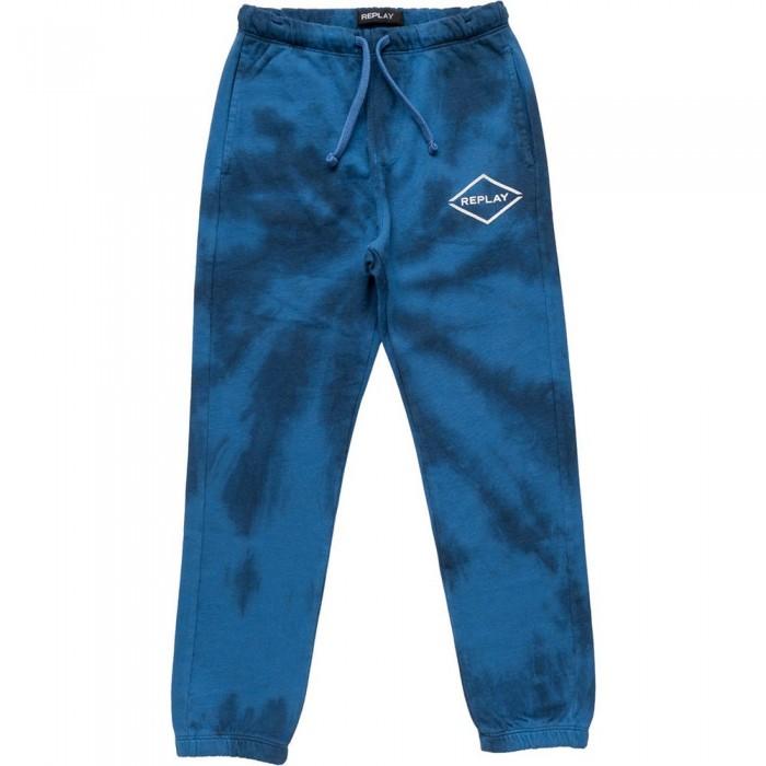 [해외]리플레이 SB9043.050.23164 Pants 15138199890 Tie Dye Royal Blue