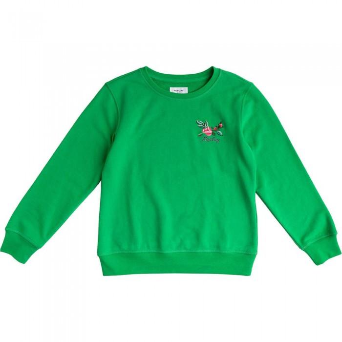 [해외]리플레이 SG2059.065.22964 Sweatshirt 15138199919 Bright Green