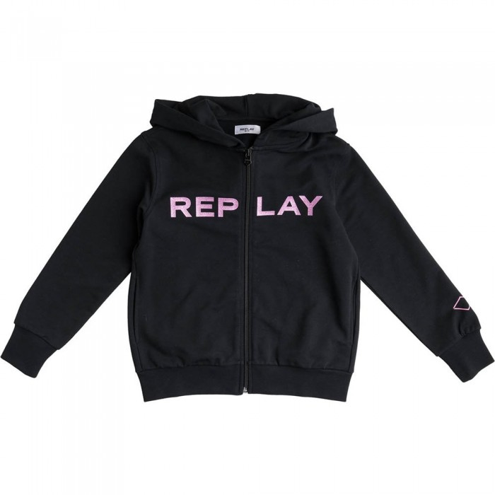 [해외]리플레이 SG2427.020.20238 Sweatshirt 15138199935 Black
