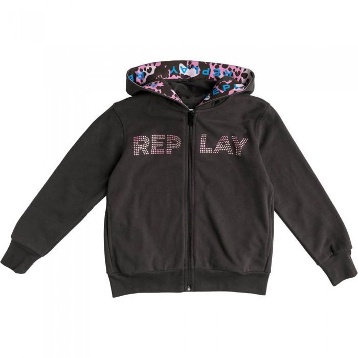 [해외]리플레이 SG2428.050.22964 Sweatshirt 15138199938 Blackboard