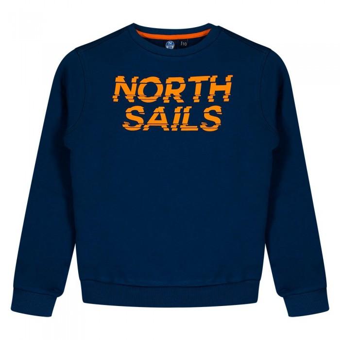 [해외]NORTH SAILS Organic Cotton Sweatshirt 15138205298 Poseidon
