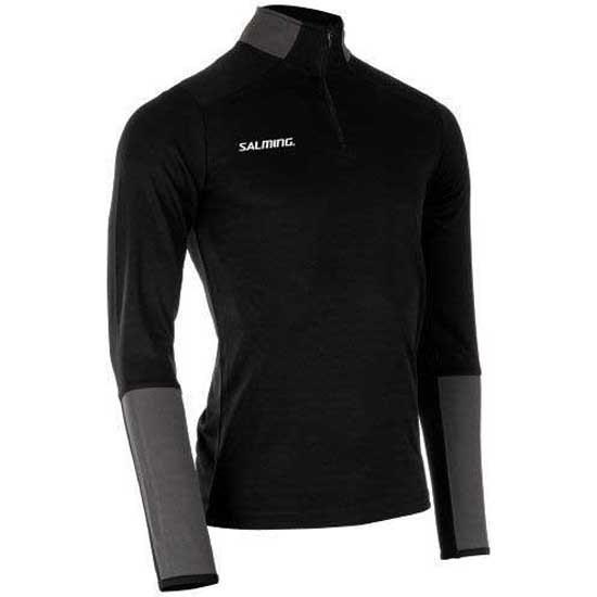 [해외]살밍 Core 21 Half Zip Jacket Junior 15138223461 Black