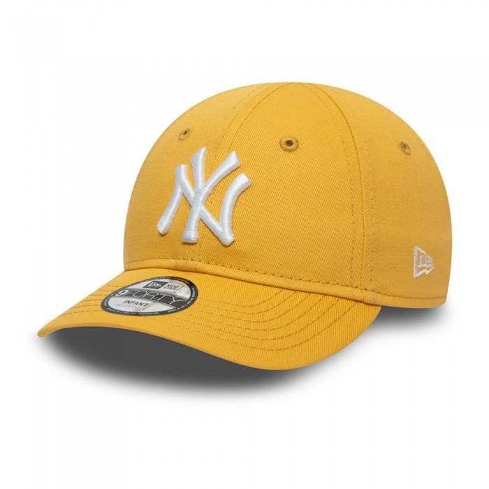 [해외]뉴에라 Team Logo New York Yankees Jake Cuff Knit Beanie 15138233247 Gold