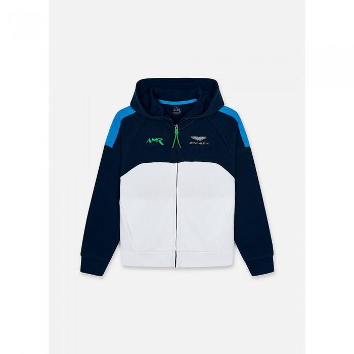 [해외]HACKETT Amr Full Zip Youth Full Zip Sweatshirt 15138235015 Navy