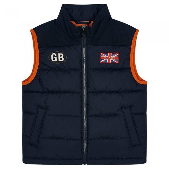 [해외]HACKETT Gbk Youth Vest 15138235645 Navy