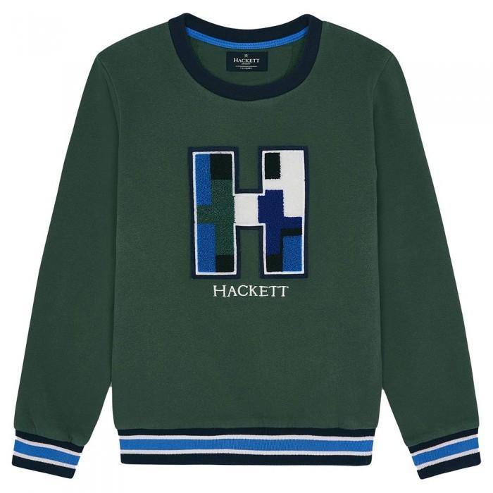 [해외]HACKETT H Logo Youth Sweatshirt 15138235678 Green
