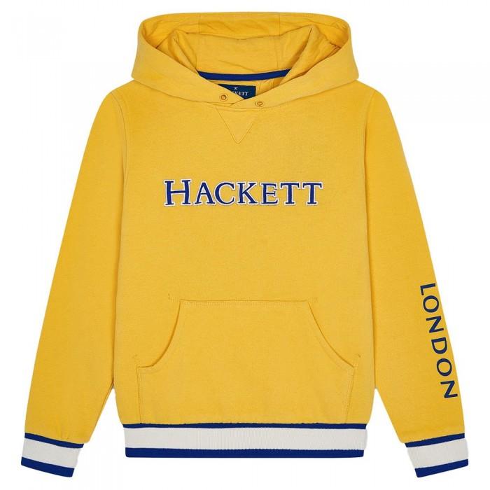 [해외]HACKETT Logo Boy Full Zip Sweatshirt 15138235756 Mustard