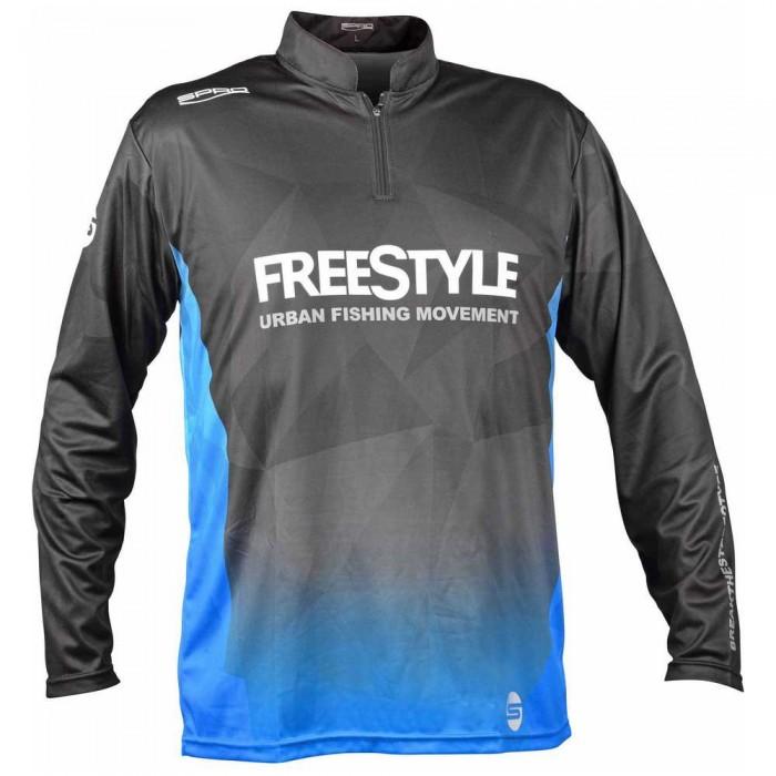 [해외]SPRO Freestyle Team Sweatshirt 8138331439 Black / Blue