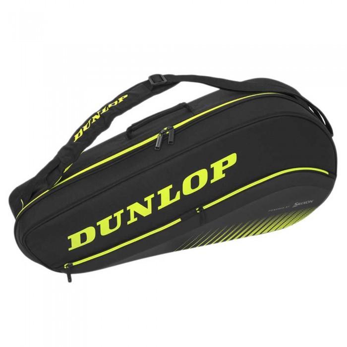 [해외]던롭 SX Performance Thermo Racket Bag 12138328880 Black / Yellow