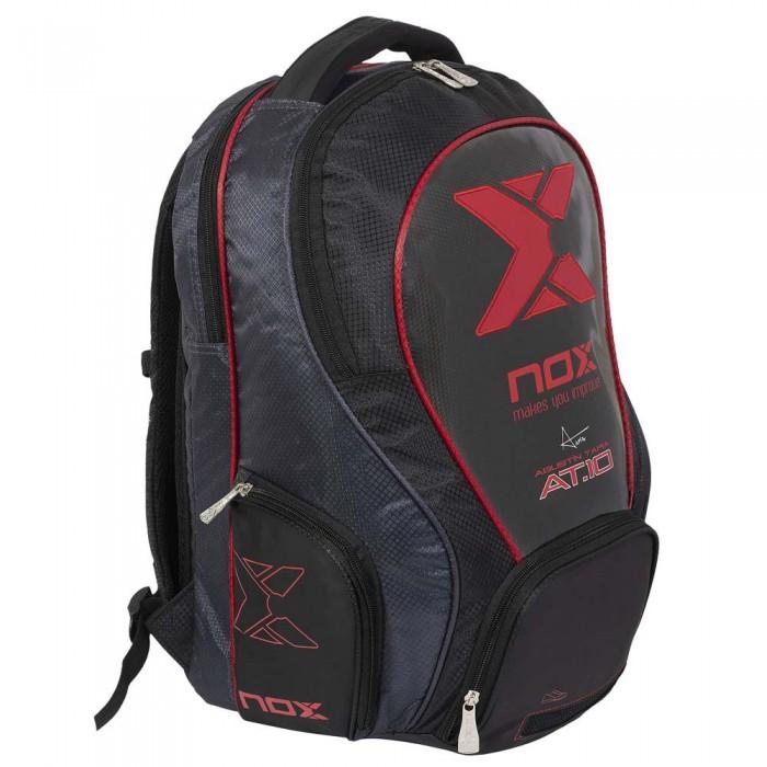 [해외]NOX AT10 Street Backpack 12138335550 Black / Red