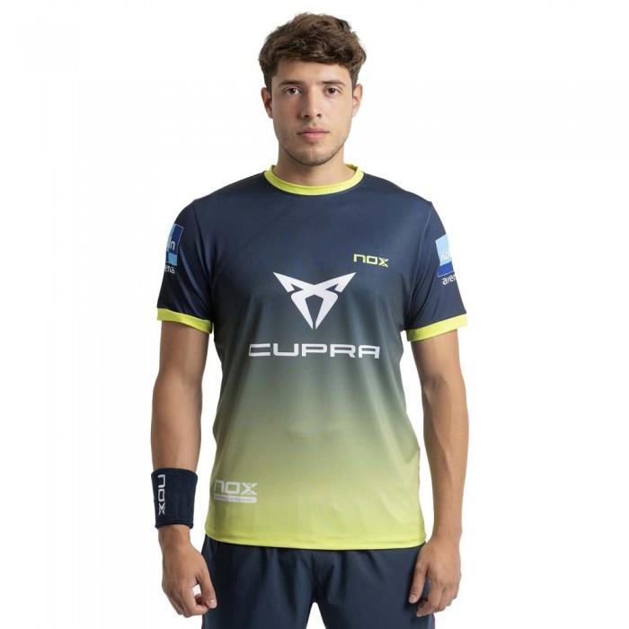 [해외]NOX AT10 Team 21 Short Sleeve T-Shirt 12138335551 Blue / Degraded Lime