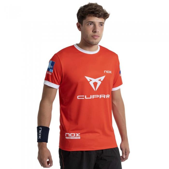 [해외]NOX AT10 Team 21 Short Sleeve T-Shirt 12138335553 Red