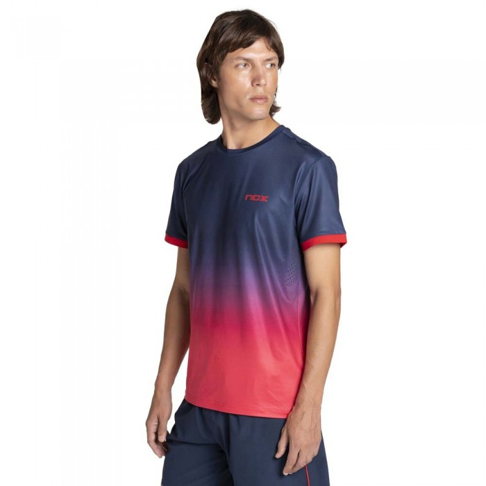 [해외]NOX Pro Short Sleeve T-Shirt 12138335583 Blue / Red