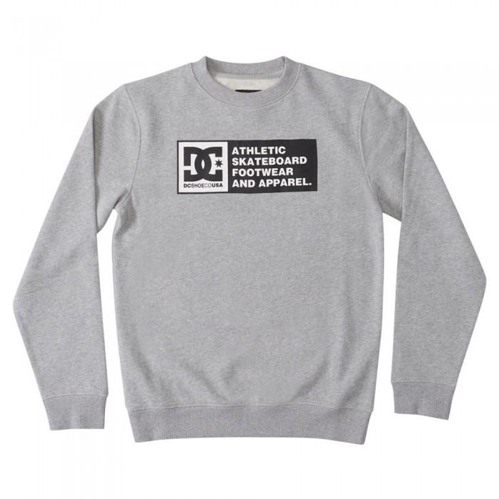 [해외]DC슈즈 DC Density Zone Crew Sweatshirt 5138152812 Heather Grey