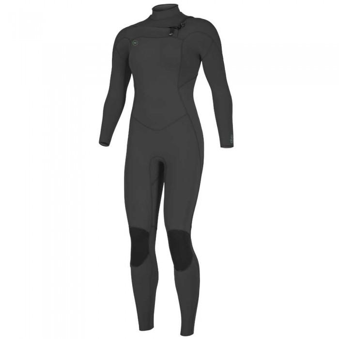 [해외]오닐 웻슈트 Woman Ninja 4/3 mm Long Sleeve Wetsuit 14138264850 Black / Black