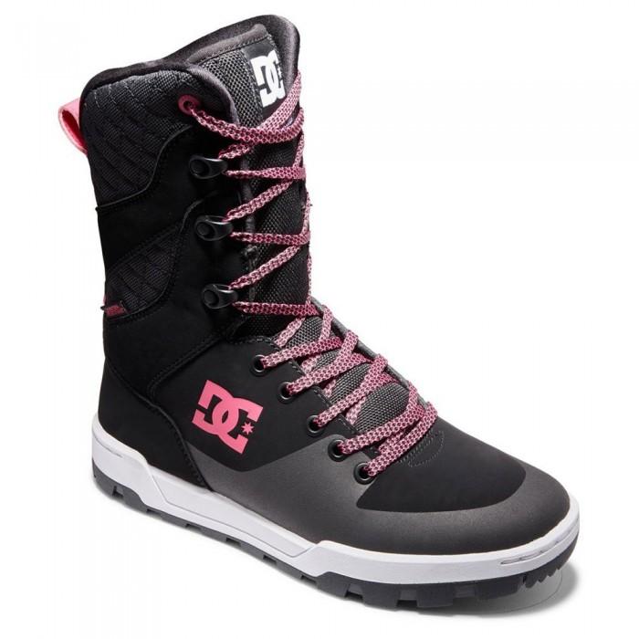 [해외]DC슈즈 Nadene Boots 14138152809 Black / White / Crazy Pink